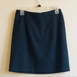 Banana Republic Stretch Pencil Skirt - Black • 2
